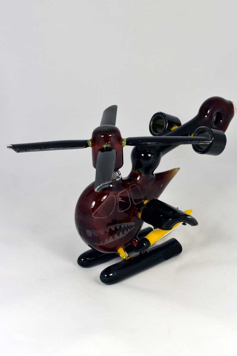 Fish Bowl Glass - Helicopter